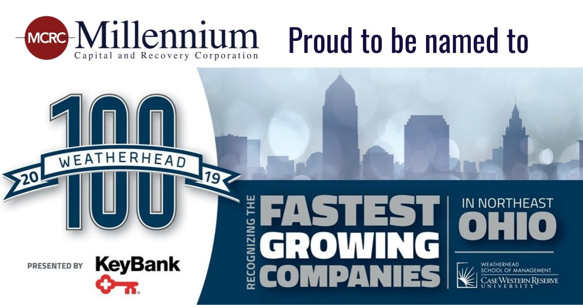Weatherhead 100 Fastest Growing Companies Northeast Ohio Millennium